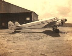 """Lockheed 12A Electra Junior (NC17379, c/n 1224) of Standar Oil of Venezuela at Cachipo airport. It was registered to Standard Oil of Venezuela on June 16th, 1937 and was on the island of Aruba on February 22nd, 1942 when it was """"substantially"""" damaged in an U-boat raid. It was subsequently registered as N17379 and N112PB. It is being restored to airworthy condition."""