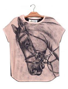 Camiseta Prima Gravura Cavalo www.usenatureza.com #UseNatureza #JeffersonKulig