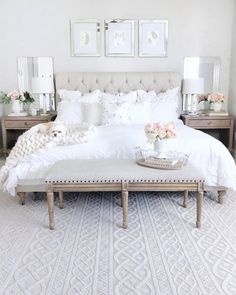 bedroom colors Orian Rugs Jersey Home Collection Organic Cable Ivory Area Rug Abusive Bedroom Decor Cozy, Modern Bedroom, Contemporary Bedroom, Luxurious Bedrooms, Chic Bedroom, Master Bedrooms Decor, Cozy Bedroom, Small Bedroom, Bedroom Colors
