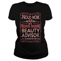 BEAUTY ADVISOR T-Shirts, Hoodies. CHECK PRICE ==►…