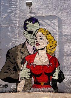 Graffiti art , street art , Urban art art Life style by urbanNYCdesigns Urban Street Art, 3d Street Art, Amazing Street Art, Street Artists, Urban Art, Amazing Art, Banksy, Pop Art Vintage, Urbane Kunst