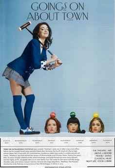 croquet ad campaign