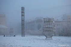 Iakoutsk, il y a 3 jours... - 44 degrés! / Cold winter weather in Yakutsk, Yakutia, Siberia / Russia by bolotbootur, via Flickr