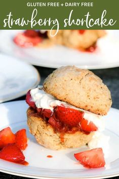 The one recipe you absolutely must make this summer: Strawberry Shortcake Dessert. Try this gluten and dairy free recipe now!  #glutenfreestrawberryshortcake #dairyfreestrawberryshortcake #healthystrawberryshortcake #strawberryshortcakerecipe Healthy Summer Recipes, Clean Eating Recipes, Healthy Desserts, Strawberry Shortcake Dessert, Non Processed Foods, Clean Eating Sweets, Whole Food Recipes, Dessert Recipes, Food Heaven