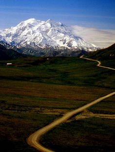 """""""The Road to Denali"""", the native Athabascan name for Mt. McKinley, means """"Great One."""