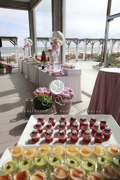 si quiero, buffet de postres en rosa en marbella