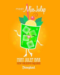 Miss Julep - New Orleans Square, Disneyland By Jerrod Maruyama