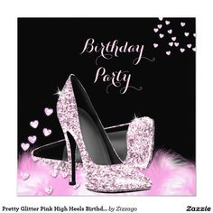 Gold Brown Black Cream High Heels Birthday Party 525x525 Square