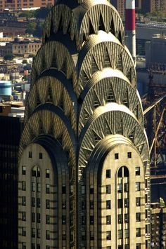 LEED Gold awarded to the Chrysler Building in New York, NY (2012)