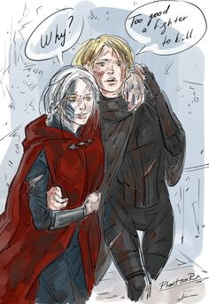 Manon and Aelin by PhantomRin. Heir of Fire. Queen of Shadows. Empire of Storms. Sarah J. Maas