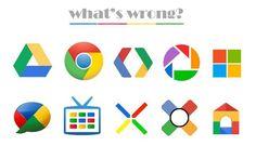 El nuevo logotipo de Microsoft vs Chrome, ¿parecidos? La imagen de la semana  http://www.genbeta.com/p/71153