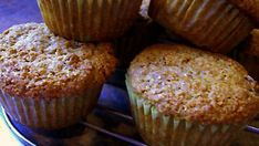 This is a wonderful bran muffin that my Mom always made and now I carry on the tradition. This recipe came from the back of Rogers Wheat Bran. Quick to make, plus the recipe doubles well and freezes excellent. Recipe With Wheat Bran, Wheat Bran Muffin Recipe, Banana Streusel Muffins Recipe, Banana Bran Muffins, Oatmeal Muffins, All Bran, Muffin Bread, Baking Cups, Baking Soda