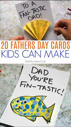 Kids Fathers Day Crafts, Fathers Day Art, Halloween Crafts For Toddlers, Toddler Crafts, Preschool Crafts, Dad Crafts, Gifts For Kids, Homemade Fathers Day Card, Homemade Birthday Cards