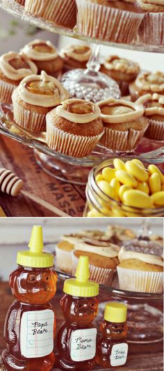 Peanut Butter + Honey Cupcake Recipe