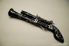 Steampunk clarinet gun