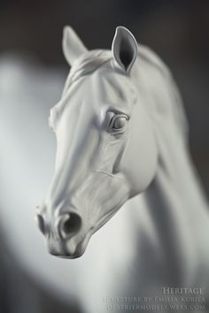 Some people--not me--have already reached the detailing stage with their NaMoPaiMo models. In this tutorial, Canadian artist, Isaac Brushet. Horse Sculpture, Sculpture Clay, Animal Sculptures, Horse Face, Horse Head, Pretty Horses, Beautiful Horses, Horse Anatomy, Draw On Photos