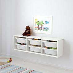New Ikea Furniture Meme Storage Ideas Playroom Storage, Kids Storage, Storage Bins, Craft Storage, Storage Shelves, Storage Spaces, Playroom Ideas, Playroom Decor, Modern Playroom