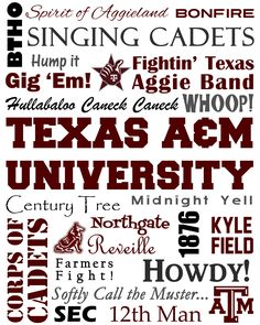 Texas A & M Subway art...for some of my Aggie friends who might not have seen this!