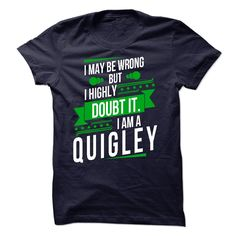 IAM A QUIGLEY