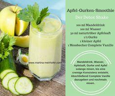 Apfel-Gurken-Smoothie http://martina-meirhofer.com/jp-complete-rezepte/