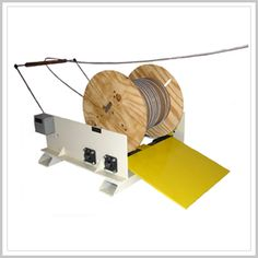 """A  #decoiler for spooled strip and wire materials includes a motorized platform for supporting a coiled spool of material on a base. Durant manufactures ten model oscillated wound material #spoolDecoilers in weight capacities to 3000 LBS and spool widths to 26"""". Call: 800-338-7268 , 401-781-7800"""