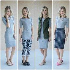 I own this Lula Roe Julia dress in black, blue, and a green. Lularoe Julia Dress, Lularoe Dresses, Lularoe Clothes, Lula Outfits, Nice Outfits, Beautiful Outfits, Casual Outfits, Gray Dress, Tulum