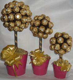 Small Ferrero Rocher Tree via Etsy.