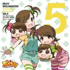 Amazon.co.jp: Ami Futami, Mami Futami & Koami and Komami (CV: Asami Shimoda)  -PETIT IDOLM@STER Twelve Seasons Vol.5 - Music