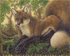 Fox  The Wisdom of Aesop's Fables   by Dark Natasha