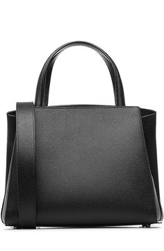 VALEXTRA Leather Tote.