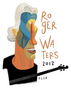 Roger Waters in Chile (2012) by Francisco Javier Olea