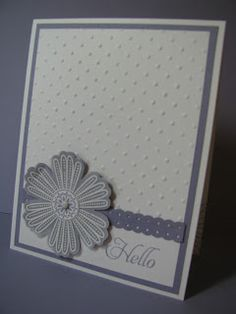 Stamp and Scrapper: Mixed Bunch/Blossom Punch Card