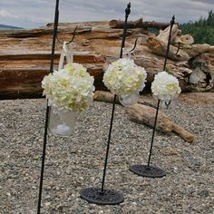 Perfect for lining pathways, aisles, porches and more, these antique metal shepherd hooks are an easy way to add elegance to any event or outdoor living space and their versatility is an added bonus. Use them to display globe lights, wreaths, hurricane lanterns and hangingfloral displays.