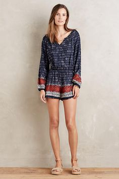Nandini Romper from Anthropologie. I can't believe I actually like a romper, but this is seriously cute.