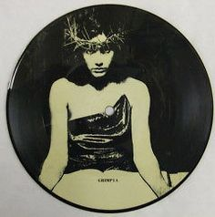 The Damned, Grimly fiendish, Rare PICTURE DISC 7 inch vinyl single