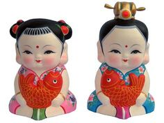 Da Ah Fu, representative work of Huishan Clay Figurine, is created according to the folk legends. An adorable and wellfed child image as it is, it is divinized to ward off evil spirits and draw down blessings by the ordinary Chinese. Chinese Babies, Wuxi, Propaganda Art, Clay Figurine, Clay Dolls, Children Images, Chinese Style, Art History, Tianjin