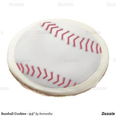 Baseball 3.5  Sugar Cookie  sc 1 st  Pinterest & Baseball Paper Plates 55th Birthday Party Paper Plate
