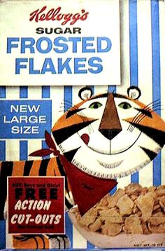 tony the tiger, old school