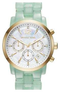 Michael Kors 'Audrina' Chronograph Bracelet Watch