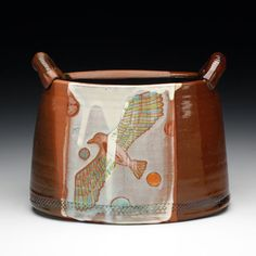Shanna Fliegel (I think this is an older work. From what I can see from her website, she is making a lot of sculptural work. I have one of her mugs from a while back and I absolutely love it. Hopefully she makes pots while she is working on her sculptures.)