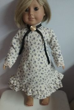 Prairie Dress for american girl 18 inch doll by Lindassewncreations on Etsy