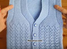 anatimli-v-yakali-minik-yelekEasy beginner knitting pattern for super plush, warm slippers. Baby Knitting Patterns, Knitting Blogs, Knitting Designs, Crochet Wool, Crochet Mittens, Knitted Hats, Knit Stitches For Beginners, Crochet For Beginners, How To Start Knitting