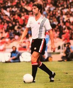 Martin Buchan of Man Utd in 1977.