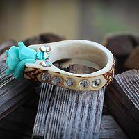 The Antlered Doe rings - something blue