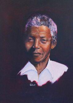 Madiba: Talbot Cox - Portrait and fine art artist