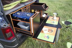 Malle Campi-Cuisine-car - Campinambulle
