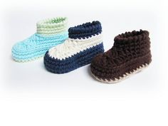Ravelry: Moccaboots Baby Booties pattern by Briana Olsen