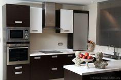 Modern Two-Tone Kitchen Cabinets #48 (Kitchen-Design-Ideas.org)