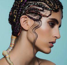 Braids Really Cool African Hairstyles Cool Braid Hairstyles, Creative Hairstyles, African Hairstyles, Curly Hair Styles, Natural Hair Styles, Editorial Hair, Festival Hair, Fantasy Hair, Coloured Hair