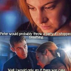 At a time this was funny but now it's just not okay, CURSE YOU ALLEGIANT